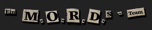 Ein MORDs-Team – Landing-Page Logo