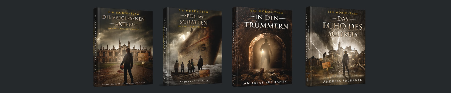 Ein MORDs-Team - Die Hardcover - www.einmordsteam.de